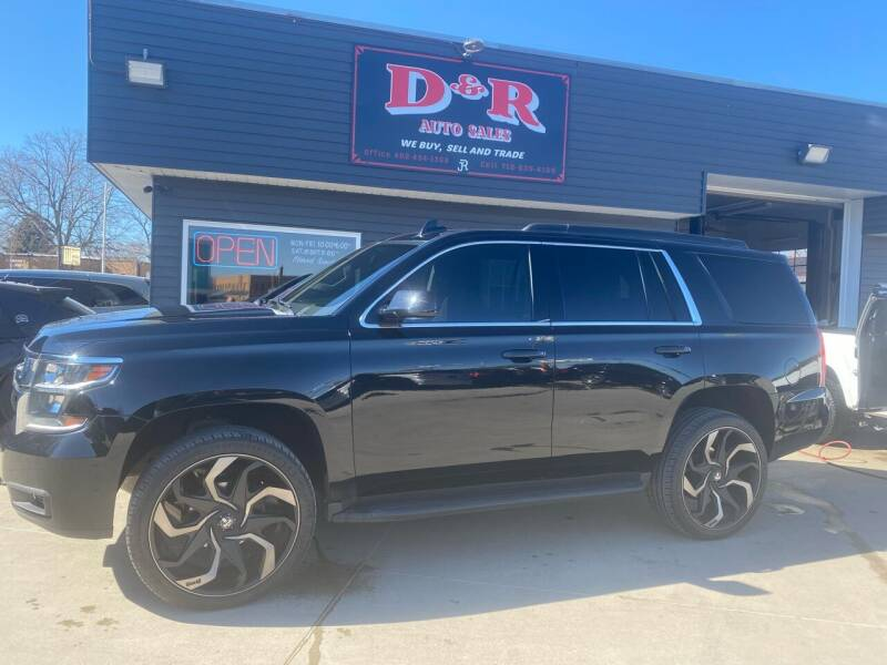 2016 Chevrolet Tahoe for sale at D & R Auto Sales in South Sioux City NE