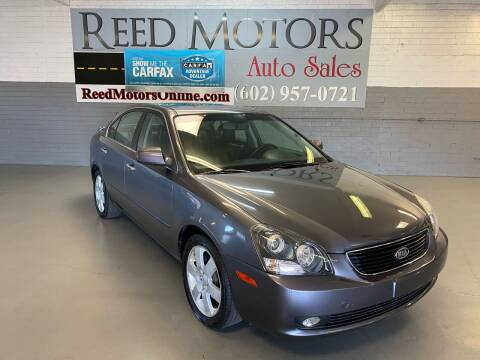 2007 Kia Optima for sale at REED MOTORS LLC in Phoenix AZ