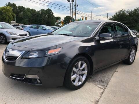 2013 Acura TL for sale at Capital Motors in Raleigh NC