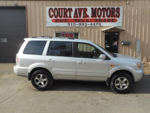 2006 Honda Pilot for sale at Court Avenue Motors in Adel IA