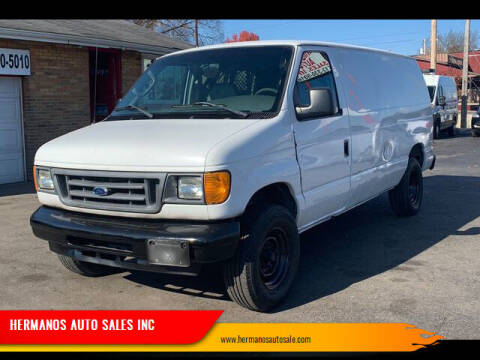 2006 Ford E-Series Cargo for sale at HERMANOS AUTO SALES INC in Hamilton OH