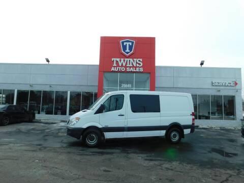 2013 Mercedes-Benz Sprinter Crew for sale at Twins Auto Sales Inc Redford 1 in Redford MI