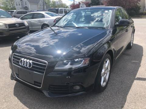 2009 Audi A4 for sale at Auto Gallery in Taunton MA