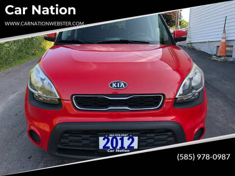 2012 Kia Soul for sale at Car Nation in Webster NY