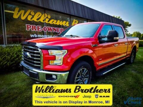 2016 Ford F-150 for sale at Williams Brothers - Pre-Owned Monroe in Monroe MI