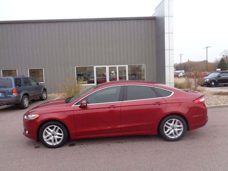 2014 Ford Fusion for sale at Herman Motors in Luverne MN