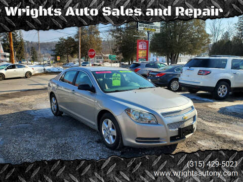 2008 Chevrolet Malibu for sale at Wrights Auto Sales and Repair in Dolgeville NY