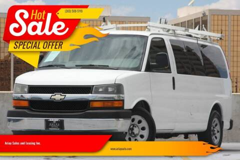 2011 Chevrolet Express Passenger for sale at Ariay Sales and Leasing Inc. in Denver CO