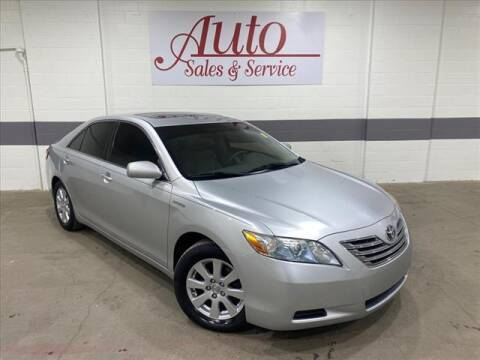 2007 Toyota Camry Hybrid for sale at Auto Sales & Service Wholesale in Indianapolis IN