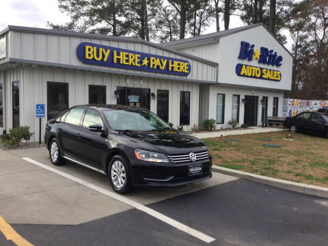 2014 Volkswagen Passat for sale at Bi Rite Auto Sales in Seaford DE