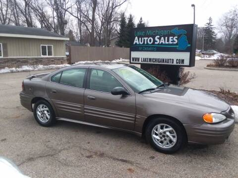 2002 Pontiac Grand Am for sale at Lake Michigan Auto Sales & Detailing in Allendale MI