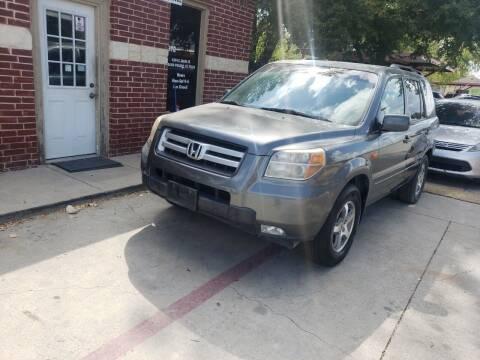 2008 Honda Pilot for sale at El Jasho Motors in Grand Prairie TX