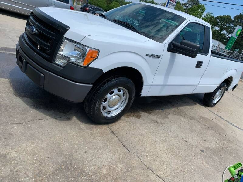 2014 Ford F-150 for sale at Whites Auto Sales in Portsmouth VA