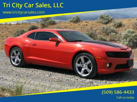 2010 Chevrolet Camaro for sale at Tri City Car Sales, LLC in Kennewick WA