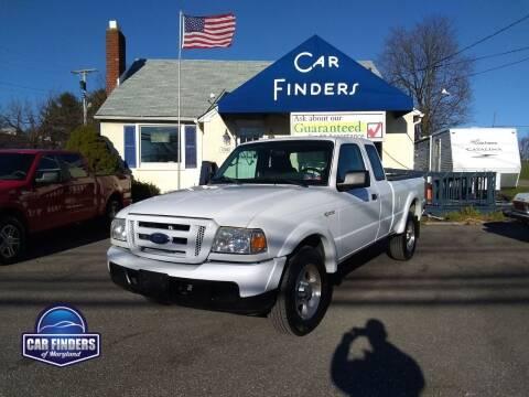 2006 Ford Ranger for sale at CAR FINDERS OF MARYLAND LLC in Eldersburg MD