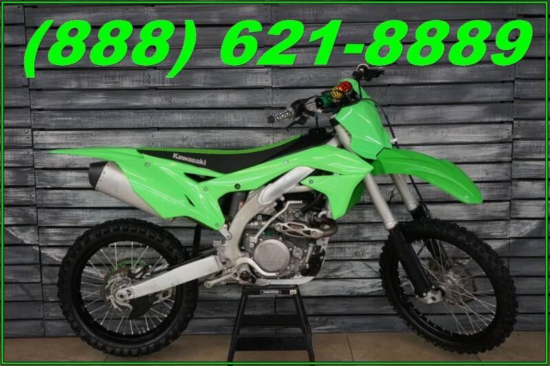 2016 Kawasaki KX450F for sale at AZautorv.com in Mesa AZ