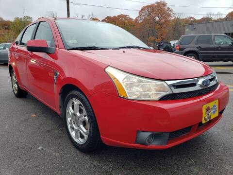 2008 Ford Focus for sale at MX Motors LLC in Ashland MA