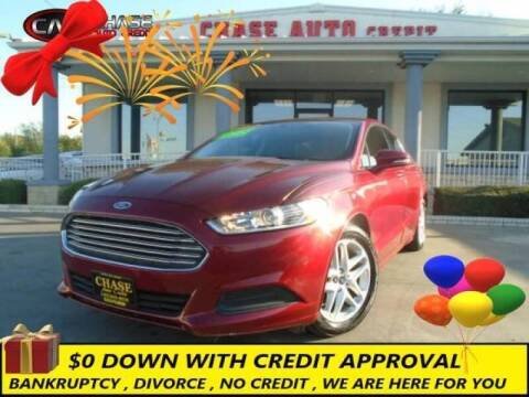 2016 Ford Fusion for sale at Chase Auto Credit in Oklahoma City OK
