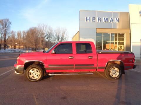 2006 Chevrolet Silverado 1500 for sale at Herman Motors in Luverne MN