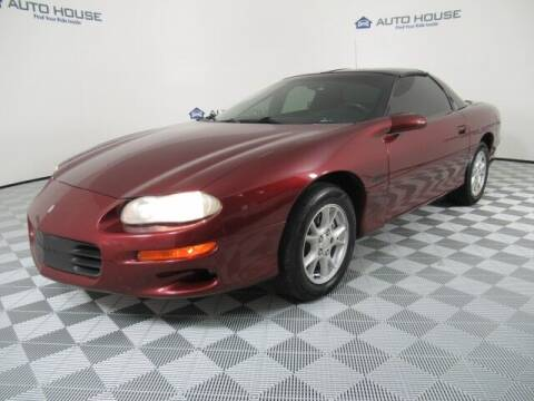 2002 Chevrolet Camaro for sale at Curry's Cars Powered by Autohouse - Auto House Tempe in Tempe AZ