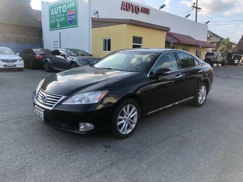 2011 Lexus ES 350 for sale at Auto Ave in Los Angeles CA
