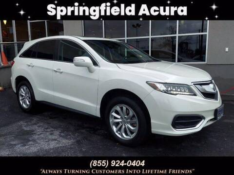 2018 Acura RDX for sale at SPRINGFIELD ACURA in Springfield NJ