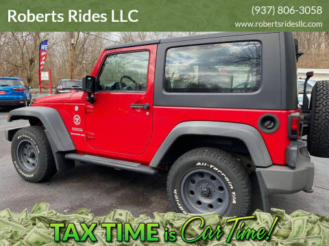 2010 Jeep Wrangler for sale at Roberts Rides LLC in Franklin OH