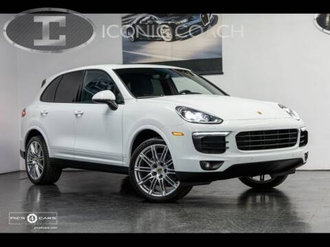 2017 Porsche Cayenne for sale at Iconic Coach in San Diego CA
