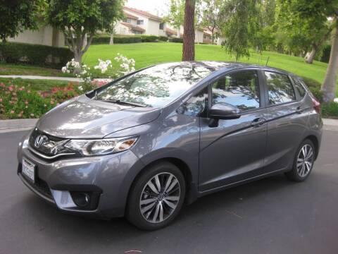 2017 Honda Fit for sale at E MOTORCARS in Fullerton CA