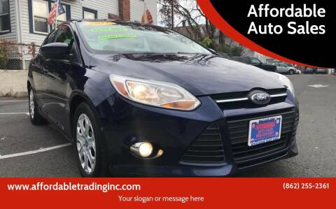 2012 Ford Focus for sale at Affordable Auto Sales in Irvington NJ