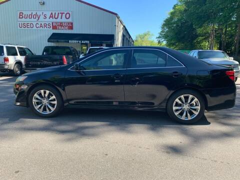 2012 Toyota Camry for sale at Buddy's Auto Inc in Pendleton SC