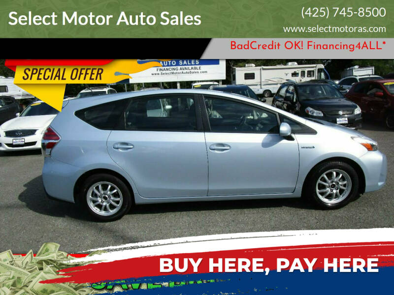 2016 Toyota Prius v for sale at Select Motor Auto Sales in Lynnwood WA