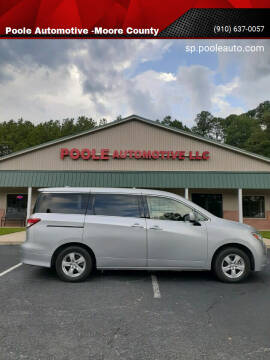 2015 Nissan Quest for sale at Poole Automotive in Laurinburg NC
