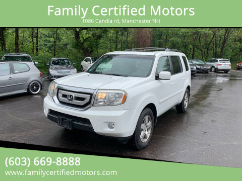 2010 Honda Pilot for sale at Family Certified Motors in Manchester NH
