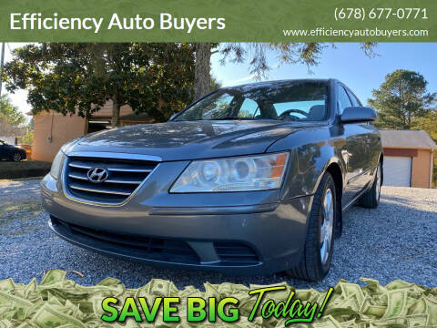 2009 Hyundai Sonata for sale at Efficiency Auto Buyers in Milton GA