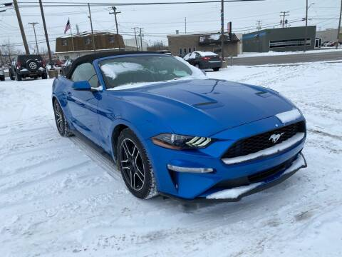 2020 Ford Mustang for sale at M-97 Auto Dealer in Roseville MI
