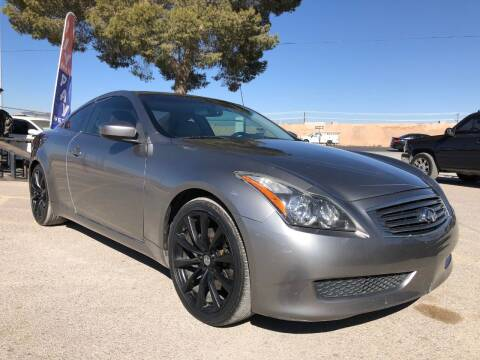 2009 Infiniti G37 Coupe for sale at Eastside Auto Sales in El Paso TX