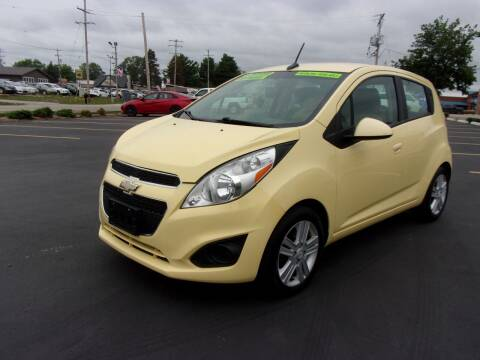2013 Chevrolet Spark for sale at Ideal Auto Sales, Inc. in Waukesha WI
