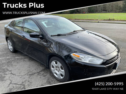 2015 Dodge Dart for sale at Trucks Plus in Seattle WA
