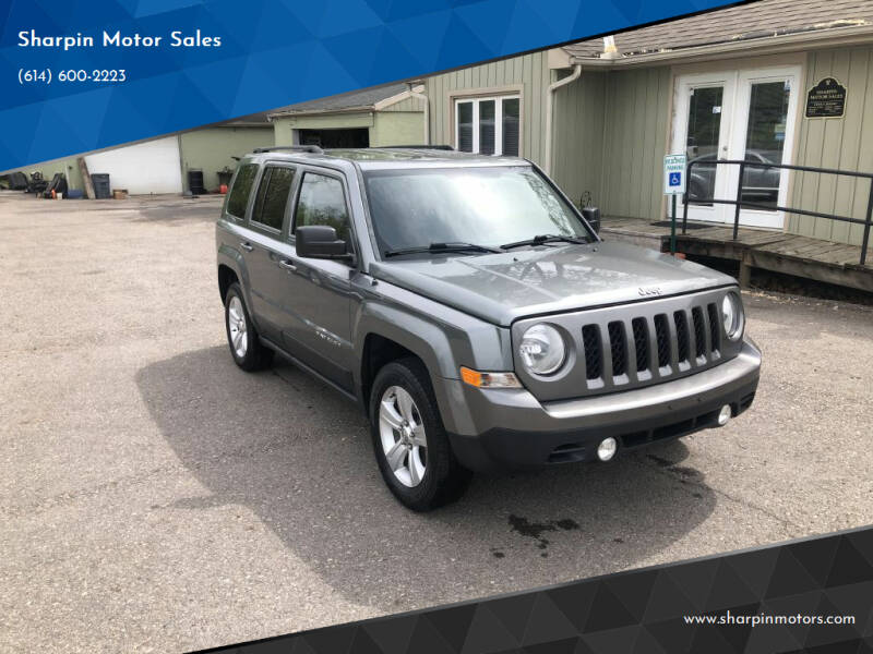 2014 Jeep Patriot for sale at Sharpin Motor Sales in Columbus OH