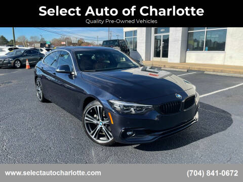 2019 BMW 4 Series for sale at Select Auto of Charlotte in Matthews NC
