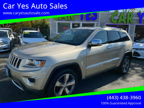 2014 Jeep Grand Cherokee for sale at Car Yes Auto Sales in Baltimore MD