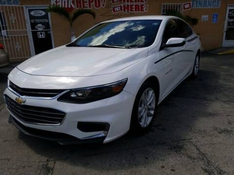 2016 Chevrolet Malibu for sale at VALDO AUTO SALES in Miami FL