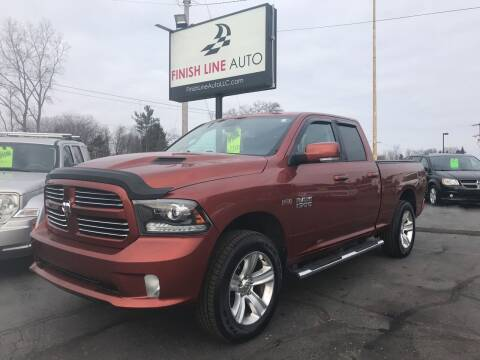 2013 RAM Ram Pickup 1500 for sale at Finish Line Auto in Comstock Park MI