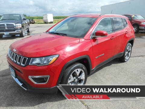 2019 Jeep Compass for sale at Salmon Automotive Inc. in Tracy MN