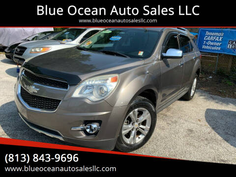 2010 Chevrolet Equinox for sale at Blue Ocean Auto Sales LLC in Tampa FL