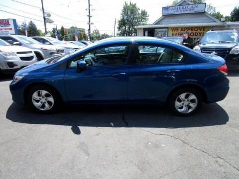 2015 Honda Civic for sale at American Auto Group Now in Maple Shade NJ
