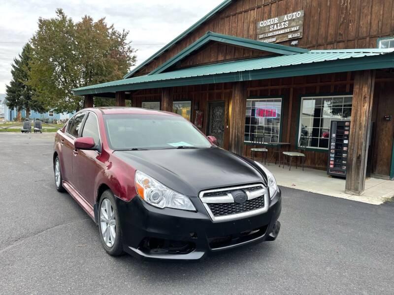 2014 Subaru Legacy for sale at Coeur Auto Sales in Hayden ID