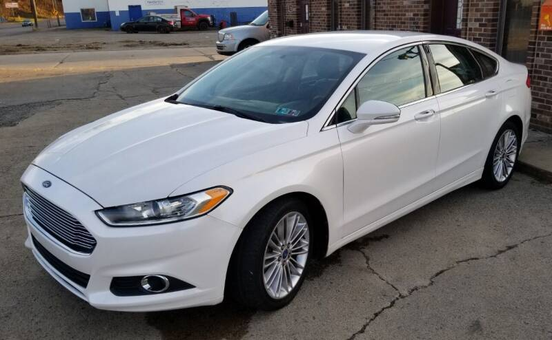 2013 Ford Fusion for sale at SUPERIOR MOTORSPORT INC. in New Castle PA
