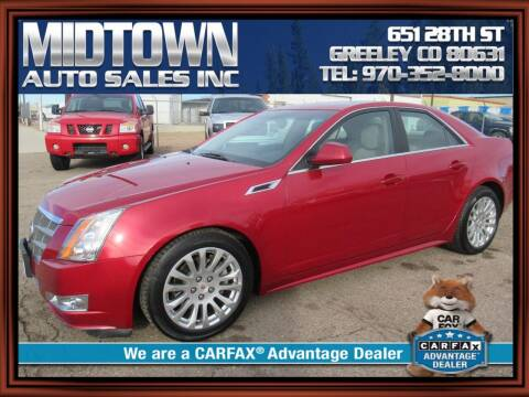 2011 Cadillac CTS for sale at MIDTOWN AUTO SALES INC in Greeley CO
